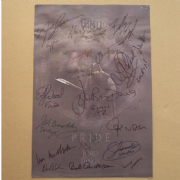 Officially Licenced Lord Of The Rings Movie Lythograph - Signed by Cast